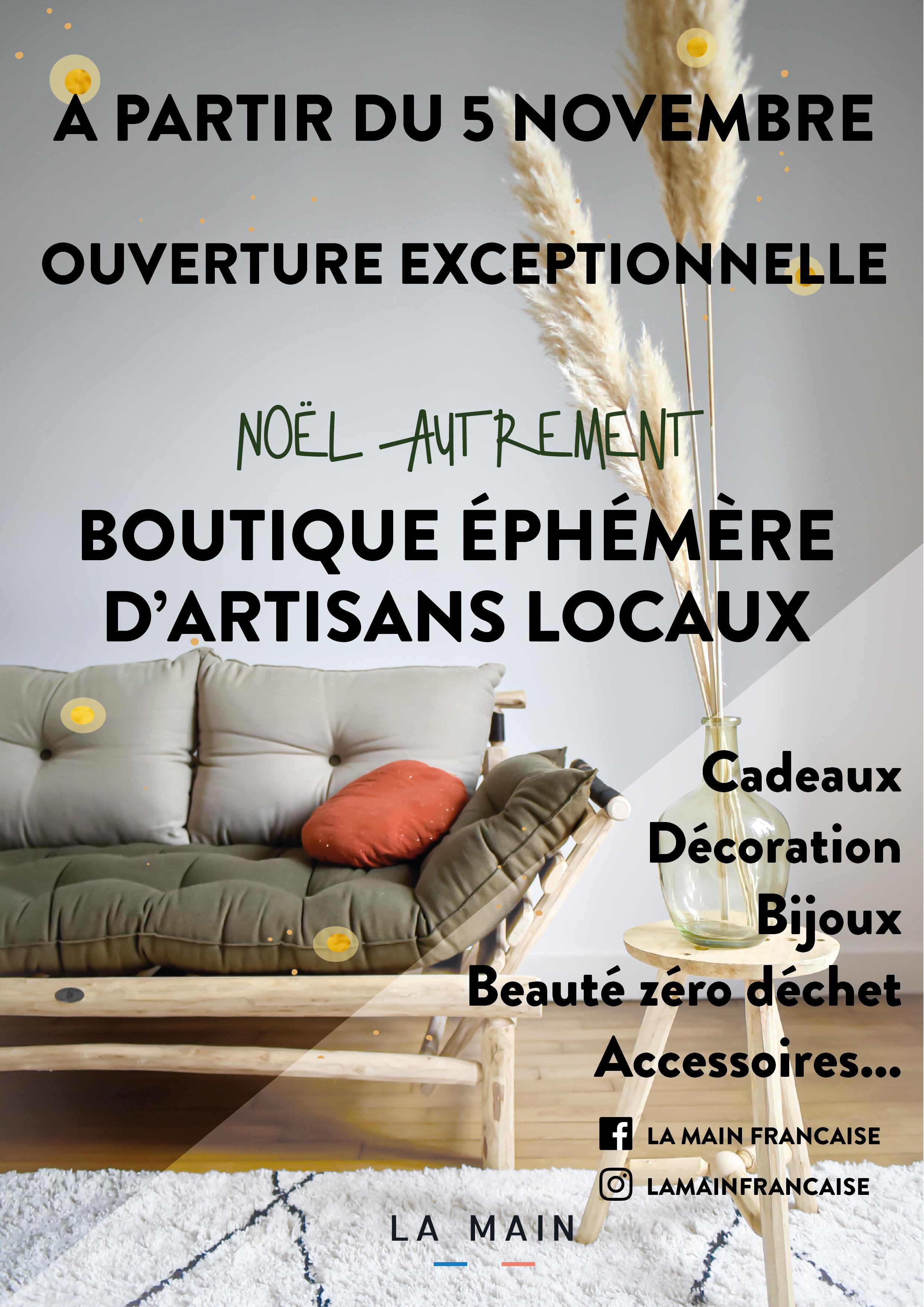Rendez-vous au 13 rue Lansecot à Limoges à partir du 5 novembre!
